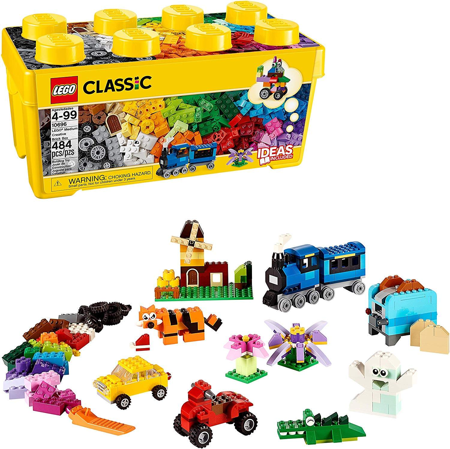 LEGO Classic Medium Creative Brick Box 10696 Building Toys