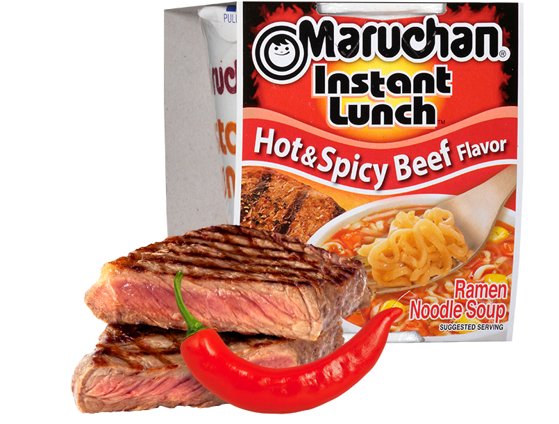 Hot & Spicy Beef Flavor