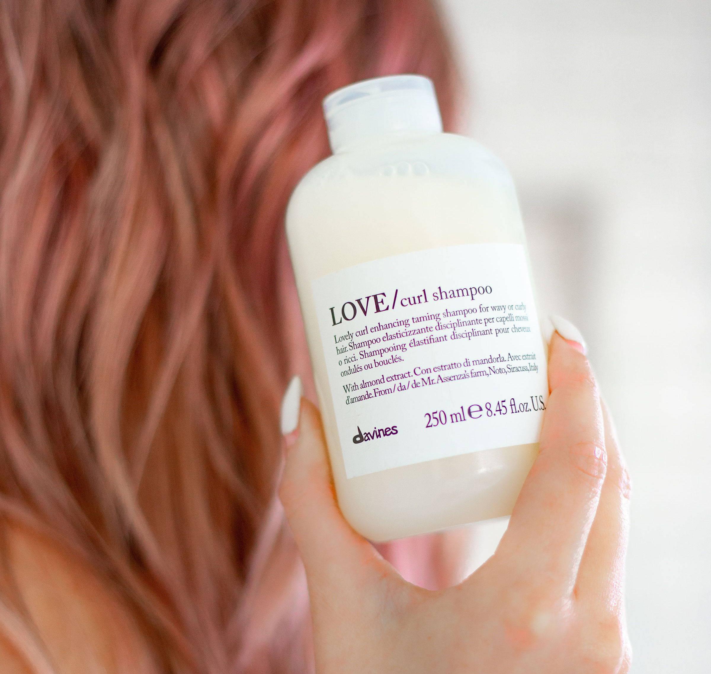 Davines Love Curl Shampoo curly hair care