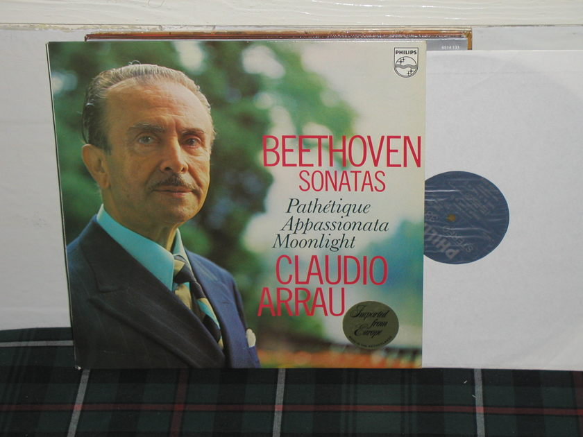 Arrau - Beethoven Sonatas Philips Import pressing 6599