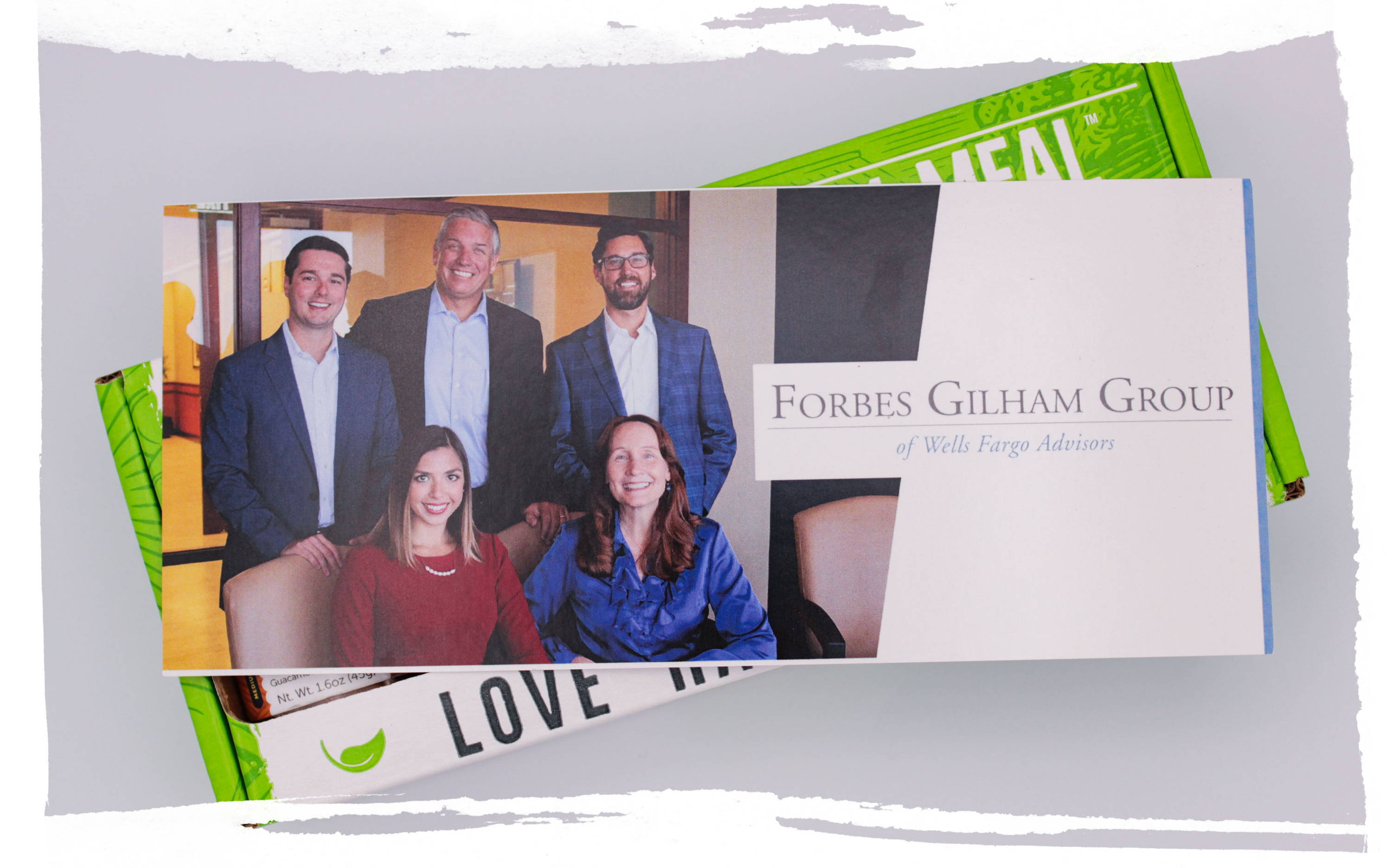 Customized Corporate Gifting Forbes Gillham Group Insert Example