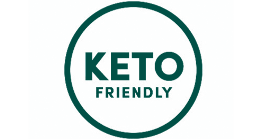 keto friendly badge