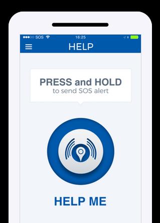 Help me screen of app