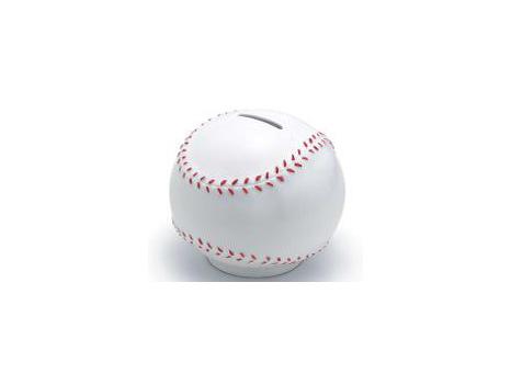 Tiffany's Baseball Piggy Bank