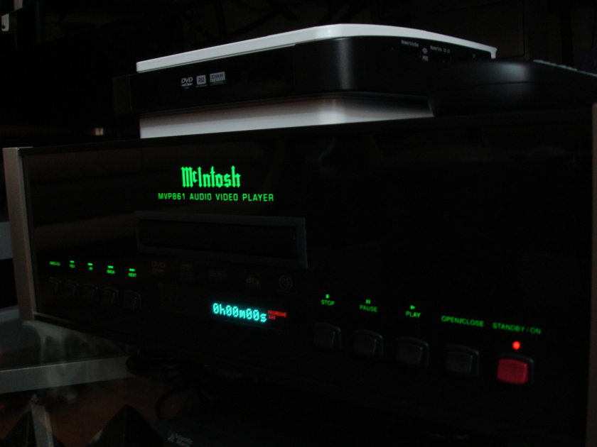 Mcintosh Mvp 861 with upgrade company  signature edition upgrade