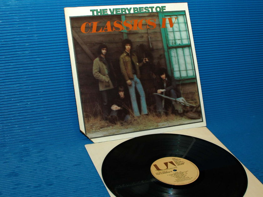 """THE CLASSICS 4 -  - """"The Very Best Of"""" -  United Artists 1975"""