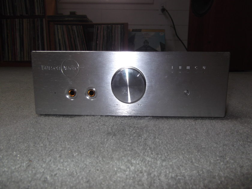 Burson HA 160-D DAC/Preamp Headphone Amplifier,  Silver Finish