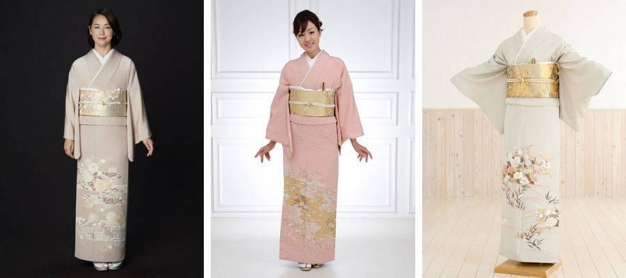 Irotomesode Kimono Robes