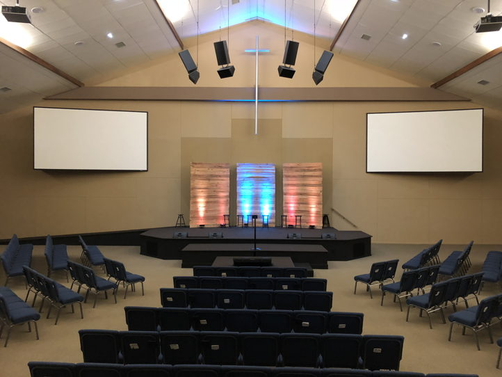 Littleton church of Christ Auditorium