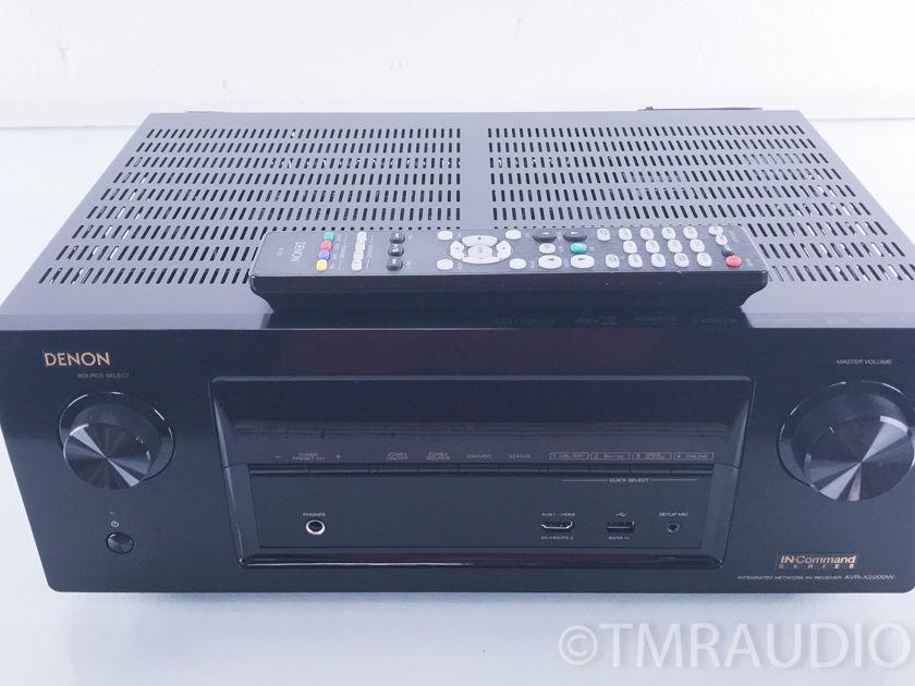 Denon  AVR-X2200W  7.2 Channel Receiver; 4K Ultra HD (2702)