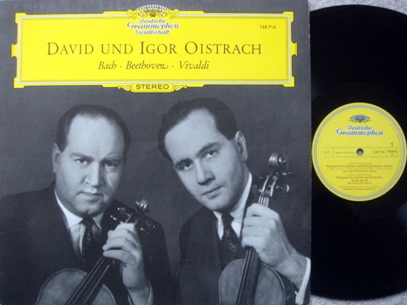 DGG / DAVID & IGOR OISTRAKH, - Bach-Beethoven-Vivaldi, MINT!