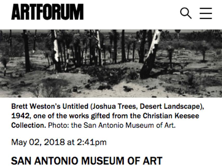Art Forum, Brett