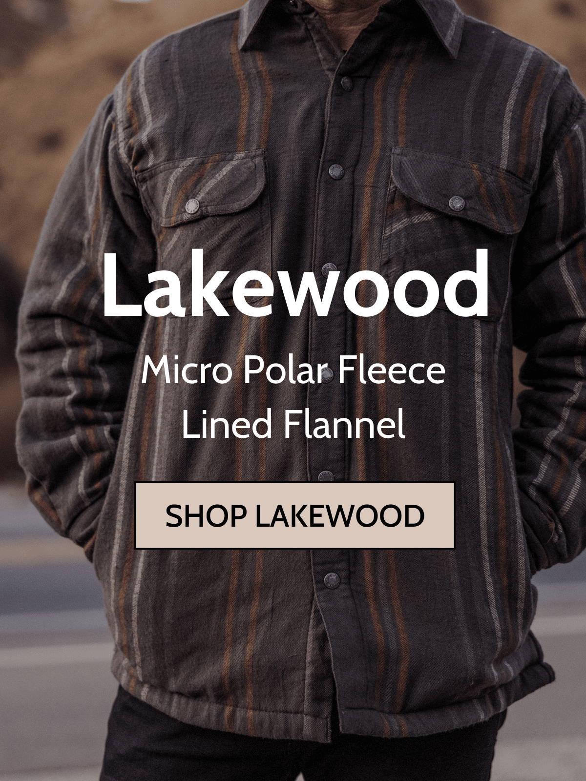 Canyon guide lake wood shirt jacket