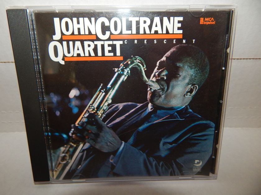 JOHN COLTRANE QUARTET - Cresent McCoy Tyner Elvin Jones MCA Impulse1987 CD