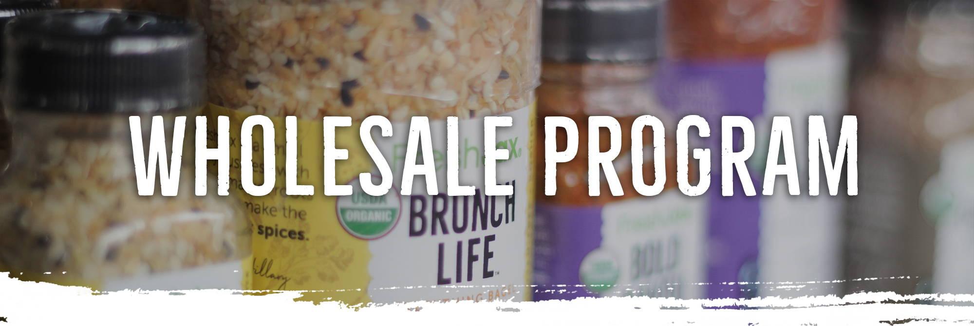 Wholesale Program