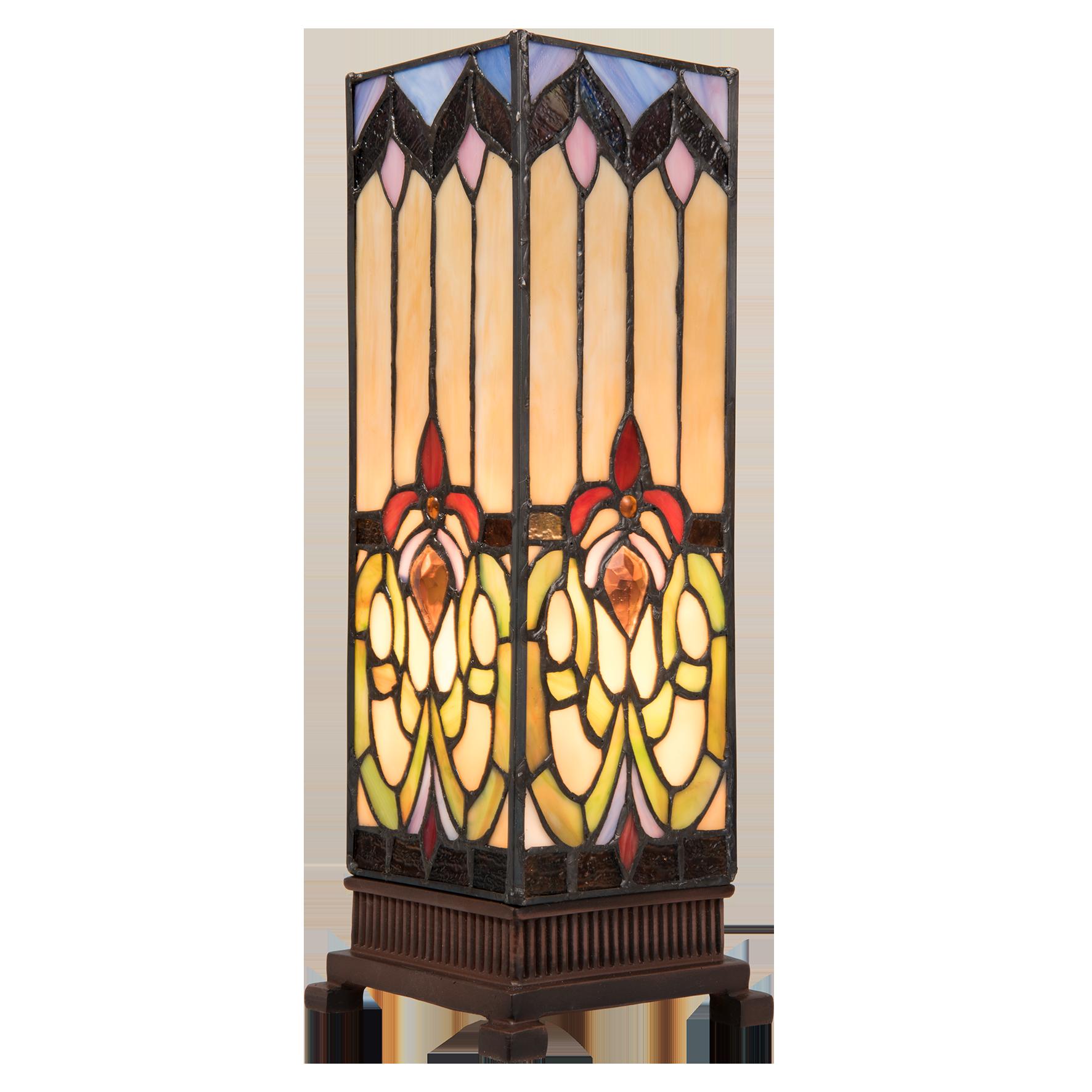 Négyzet alapú Tiffany lámpák