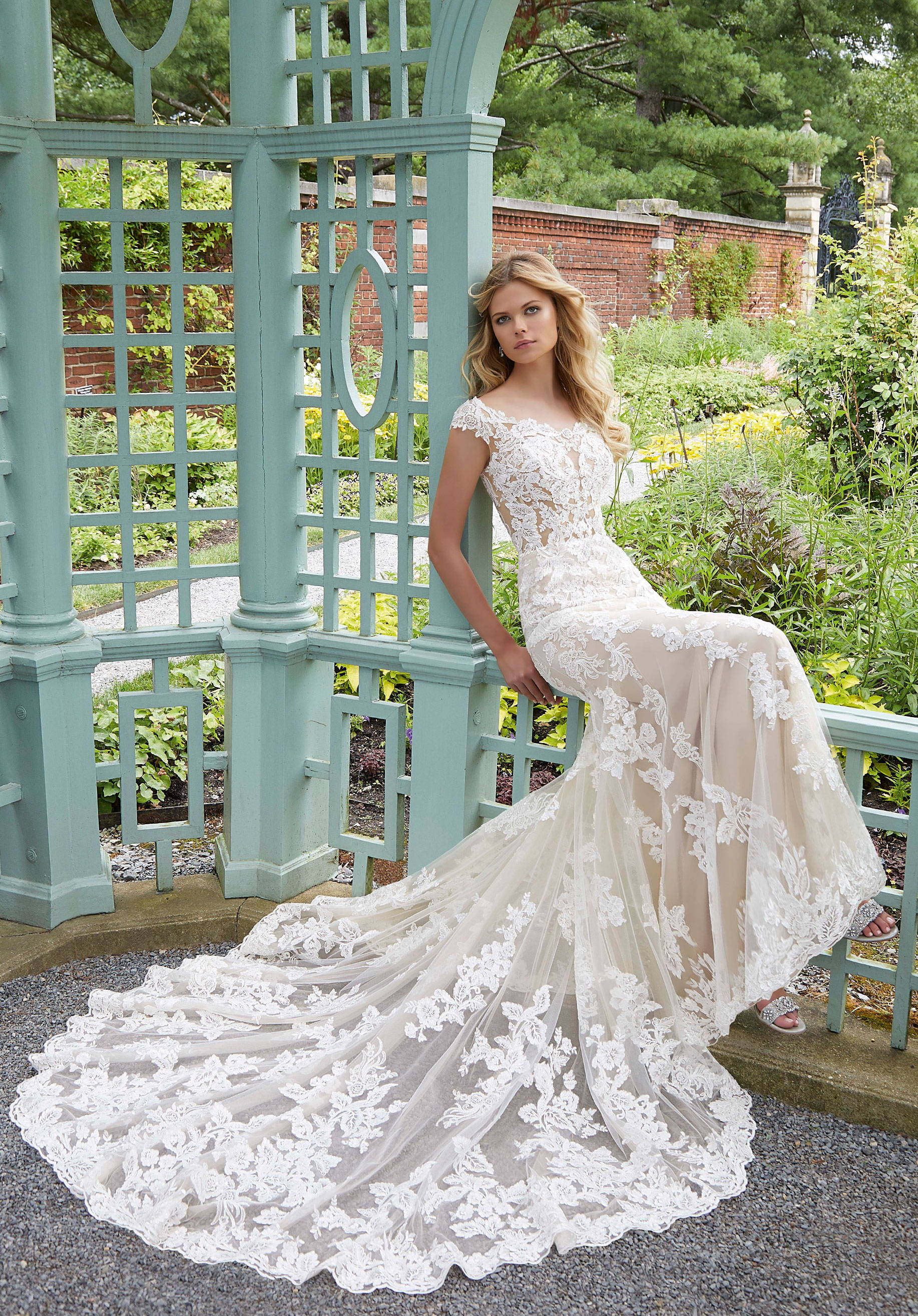 MORI LEE  2028 WEDDING DRESS DRESS