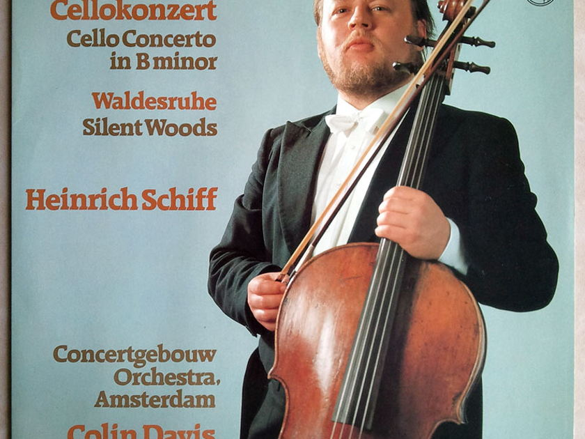 Philips/Heinrich Schiff/Dvorak - Cello Concerto, Silent Woods / NM