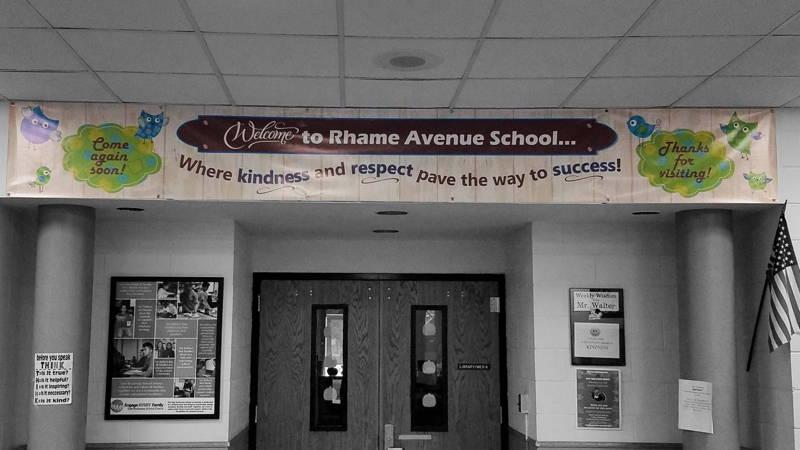 custom vinyl banner for school