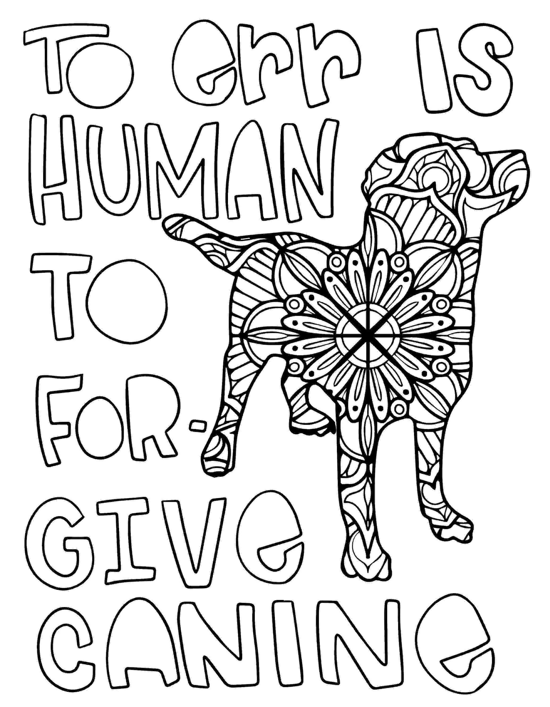 free-dog-printable-mandala-coloring-page