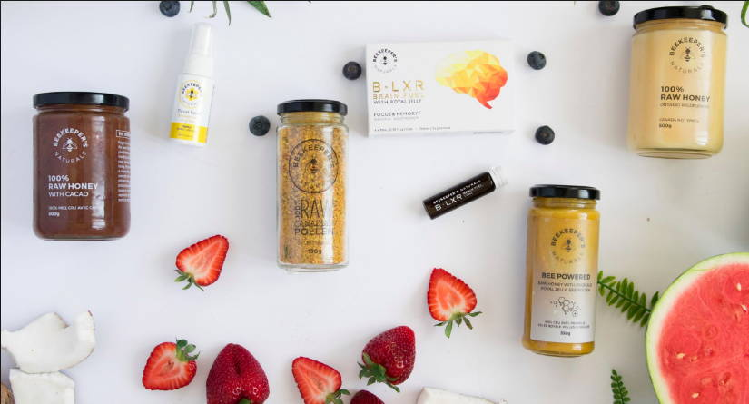 all-natural health-boosting products to save the bees