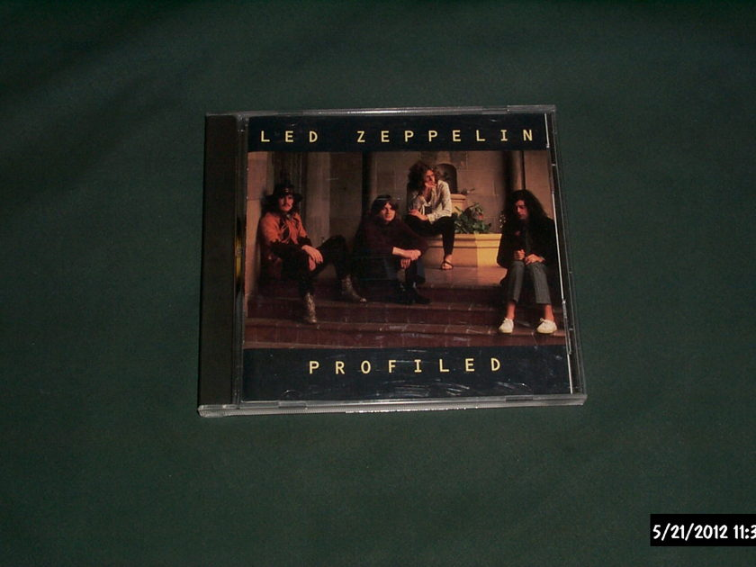 Led Zeppelin - Profiled Atlantic Records Promo CD NM