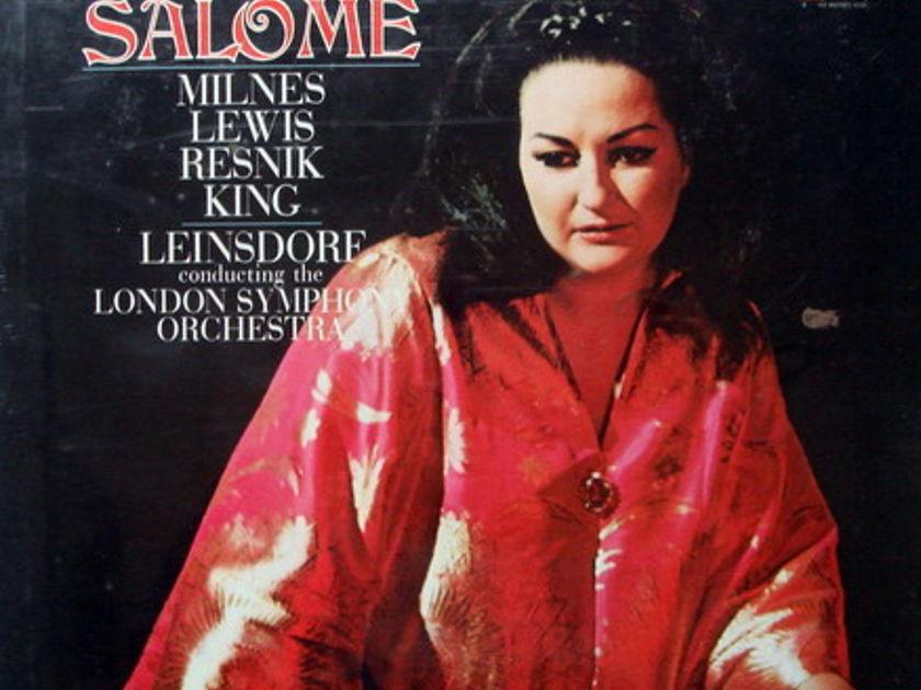 ★Sealed★ RCA Red Seal / LEINSDORF-CABALLE, - R. Strauss Salome, 2LP Box Set!