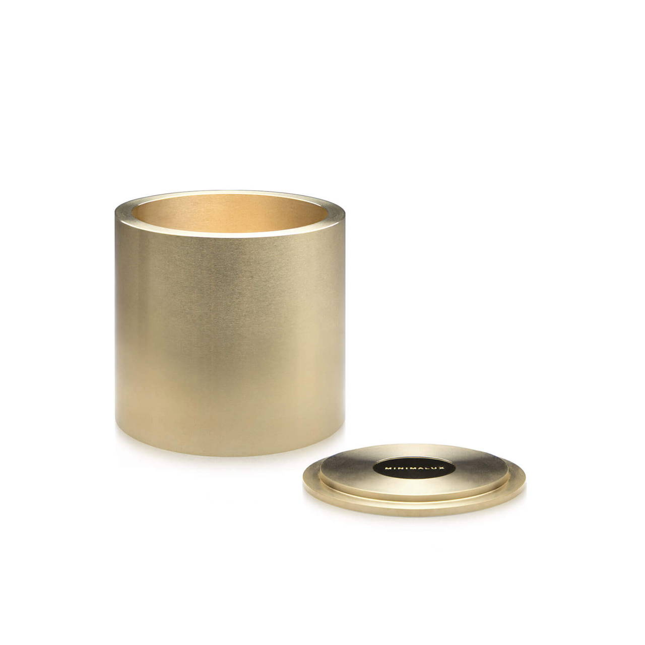 Brass Pot 60 with Lid off
