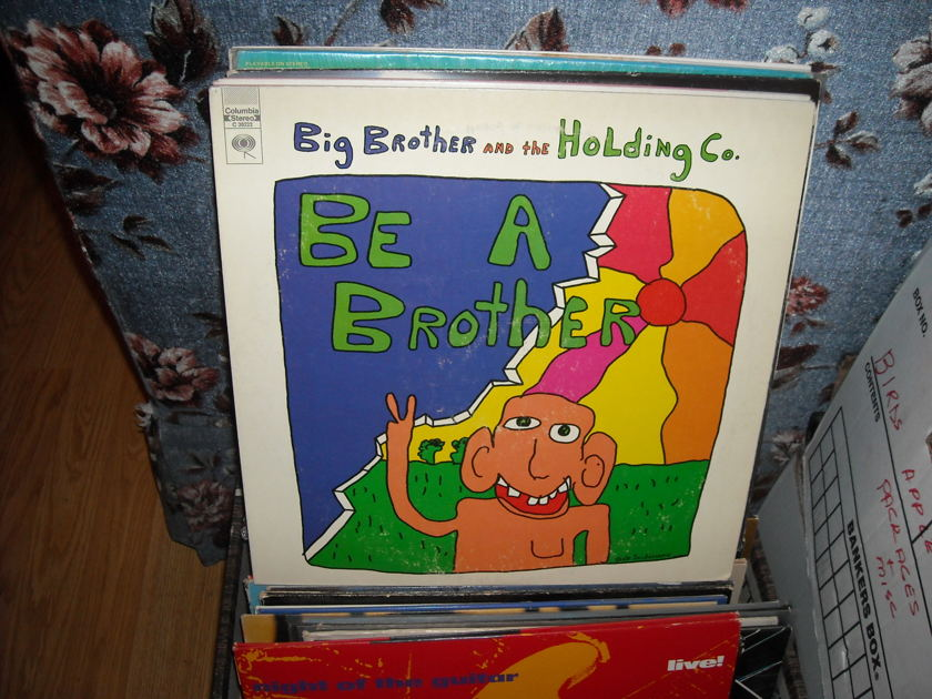 Big Brother & Holding Co. - Be A Brother columbia lp (c)