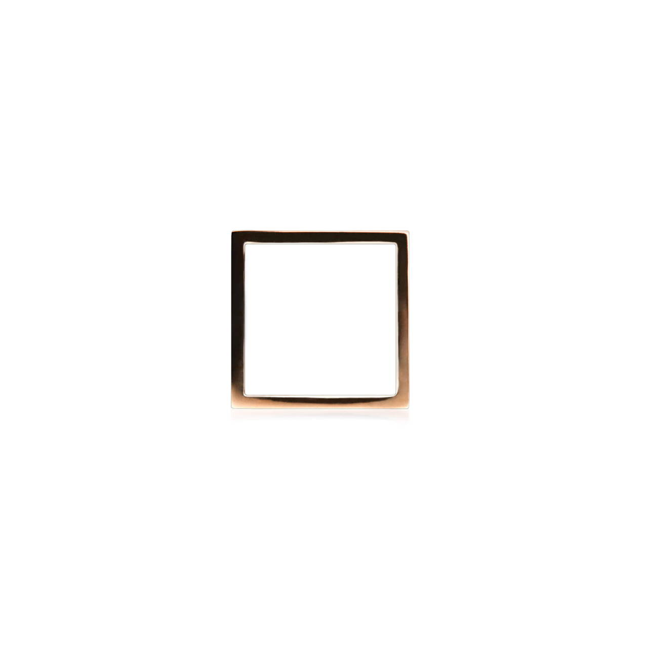 Square Ring in Copper
