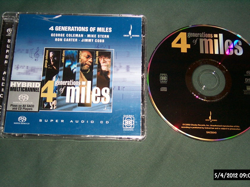 Various - 4 Generations Of Miles Chesky SACD hybrid NM