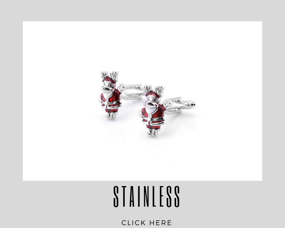 Corporate Custom Stainless Cufflinks