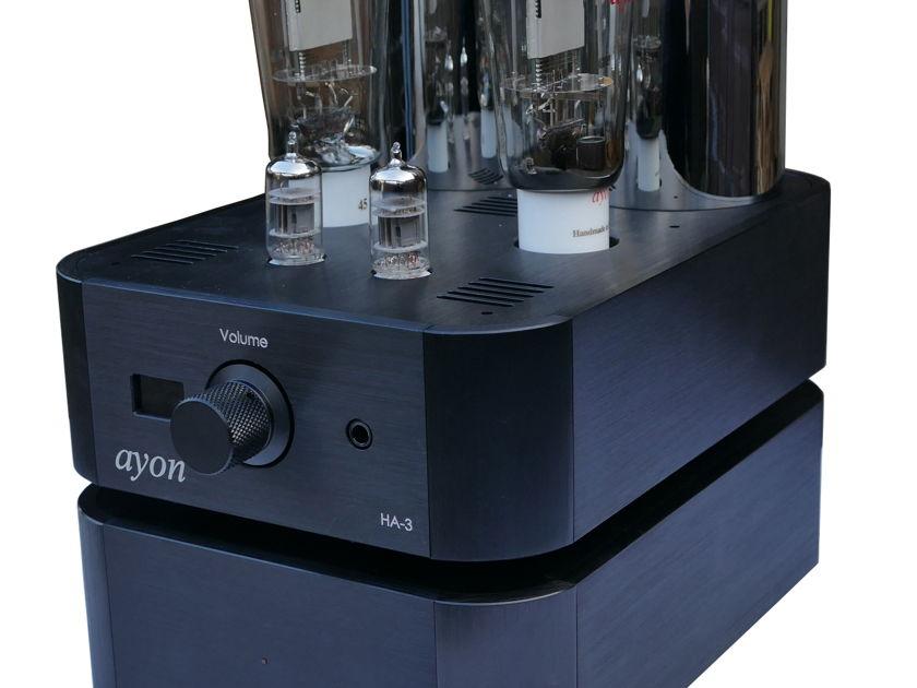 AYON AUDIO  HA-3 VACUUM TUBE HEADPHONE AMP AWARD WINNING 8 YEARS RUNNING