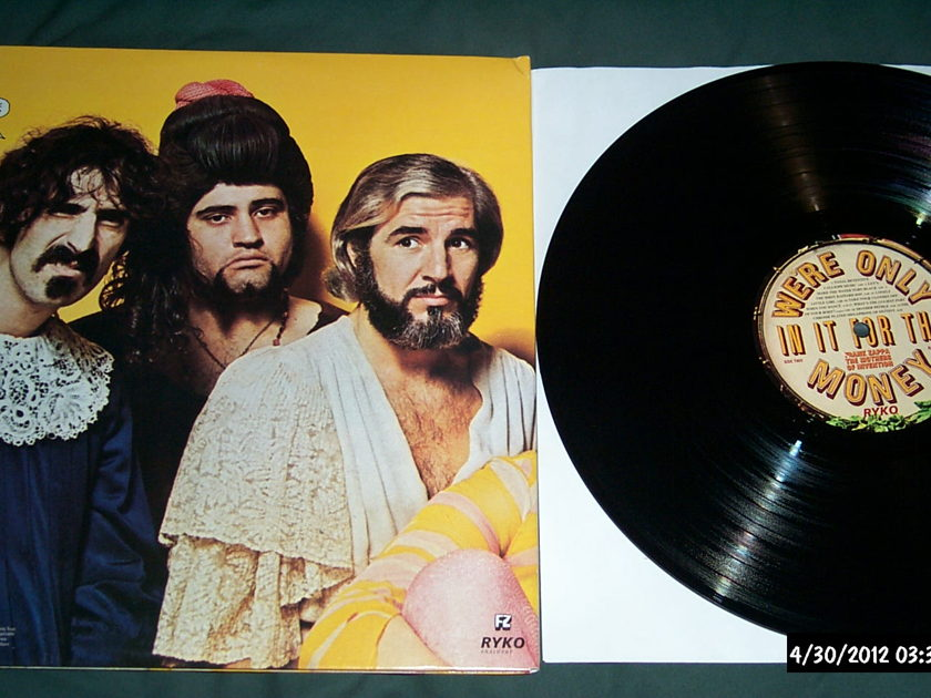 Mothers Of Invention - We're Only In It for the money ryko vinyl lp nm
