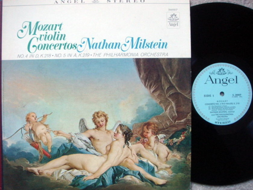 EMI Angel Blue / MILSTEIN, - Mozart Violin Concertos No.4 & 5, EX!