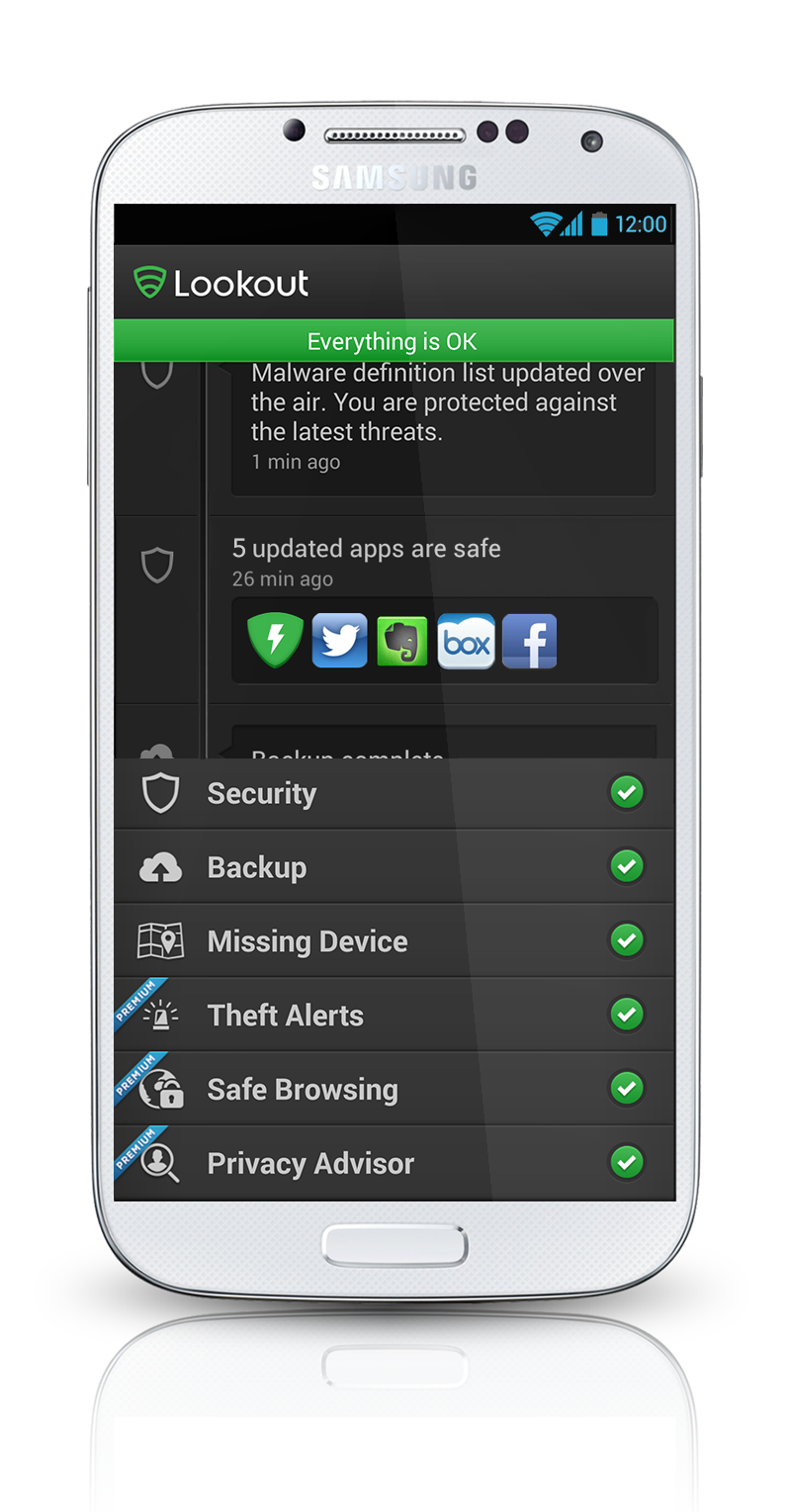 lookout security vs avast android
