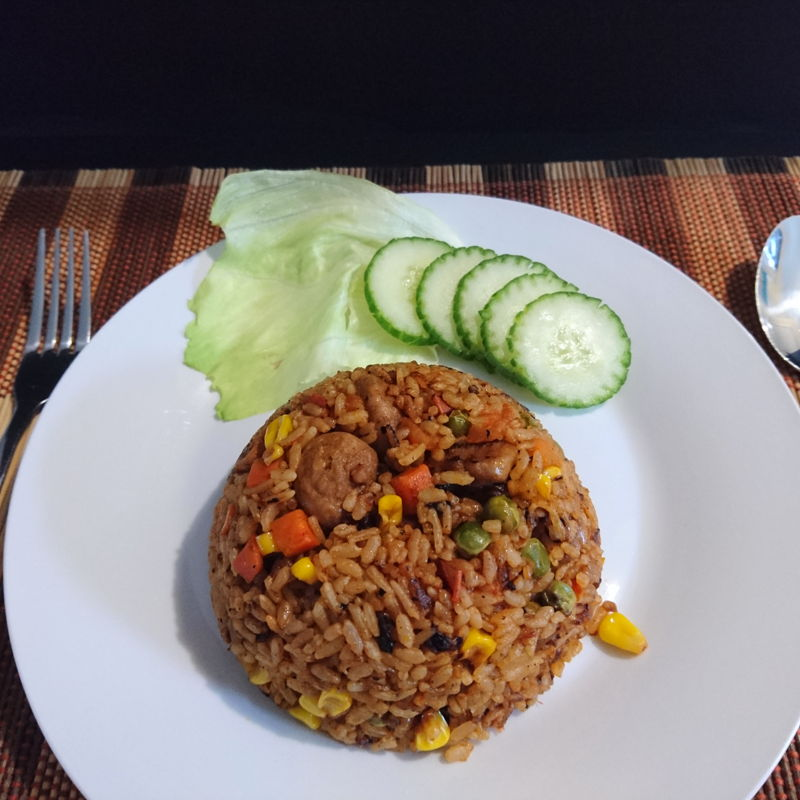 Date: 7 Dec 2019 (Sat) 43rd Main: Tomato Fried Rice – Japanese Version [135] [127.2%] [Score: 8.8] Thank you Grace for the recipe. It is indeed a versatile recipe of the many versions of tomato fried rice.