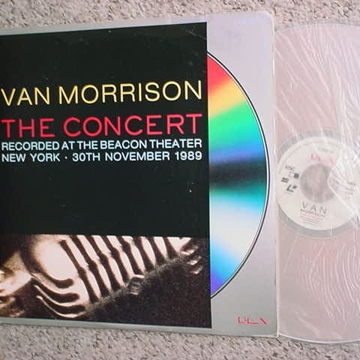 Van Morrison the concert Beacon theatre 1989