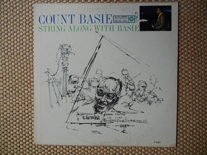 COUNT BASIE/ - STRING ALONG WITH BASIE/ Roulette Records Stereo R 52051