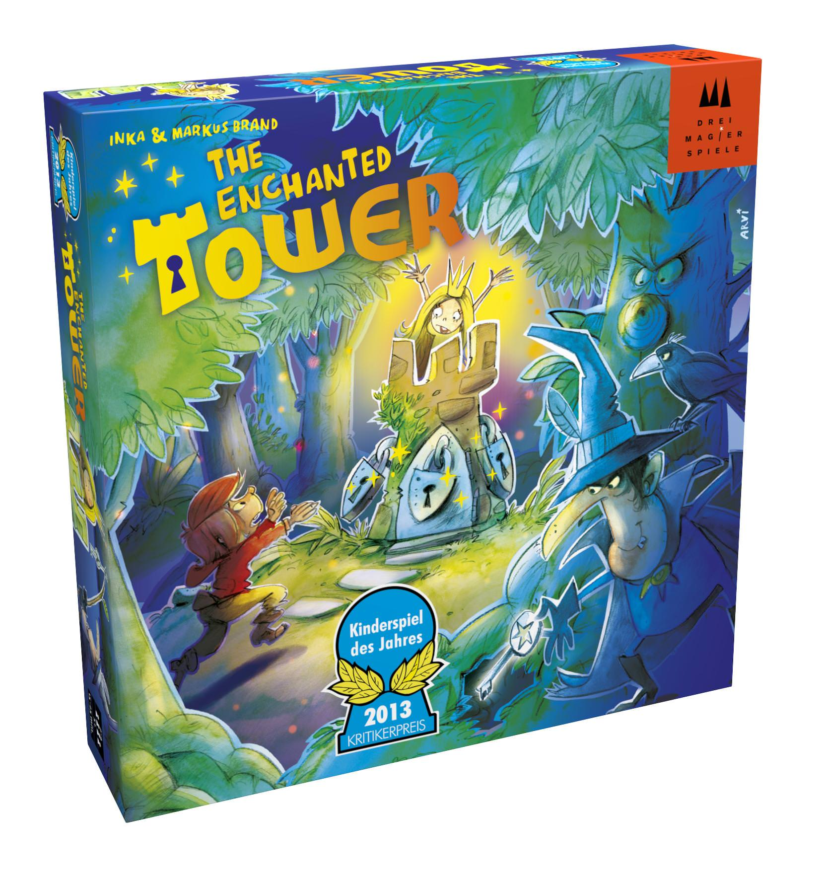 The Enchanted Tower - What are the best board games for kids