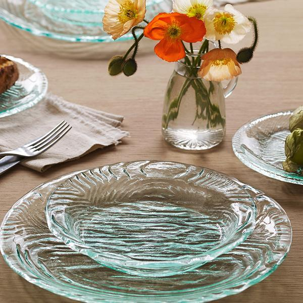 grove, glass dinnerware