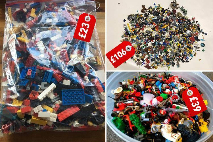 selling and buying lego