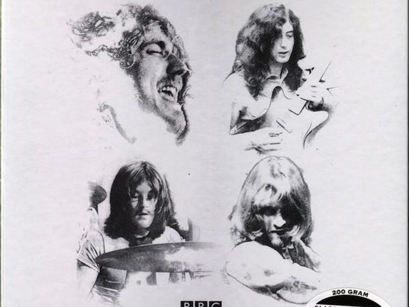 LED ZEPPELIN - THE BBC SESSIONS - - CLASSIC RECORDS 200 GRAM PRESS ***SEALED***