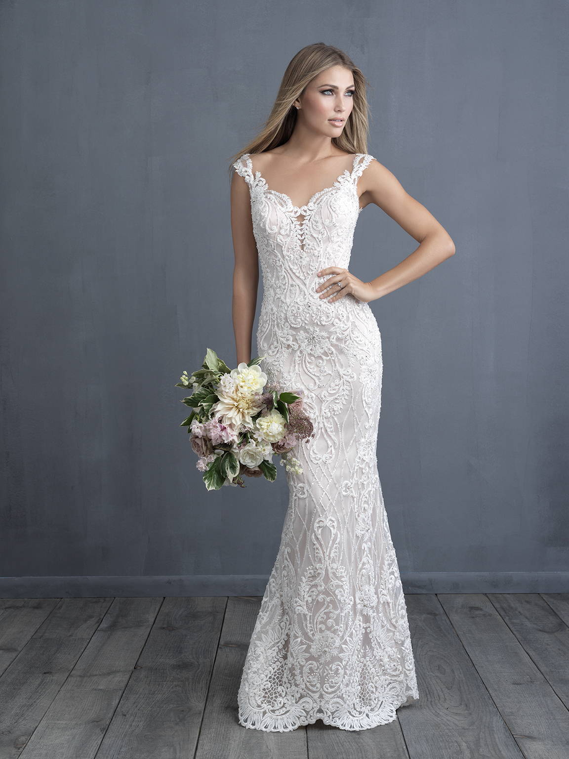 ALLURE  WEDDING DRESS C489
