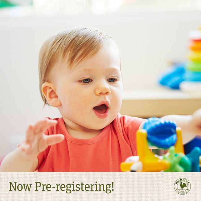infant pre registration