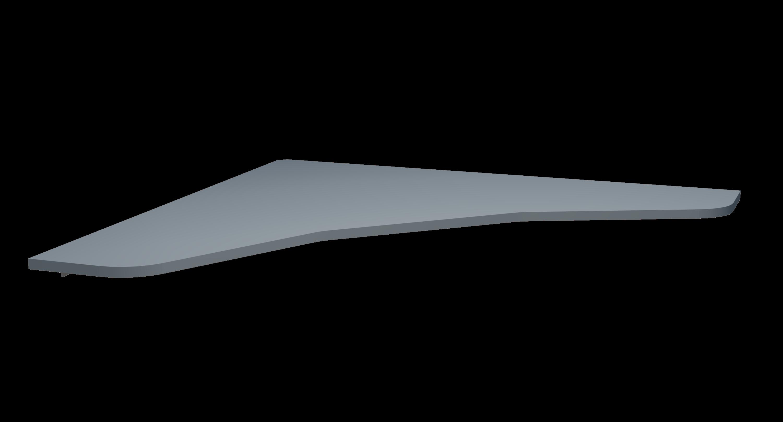 Grey, matte table for SnapCab Access ADA compliant office pod