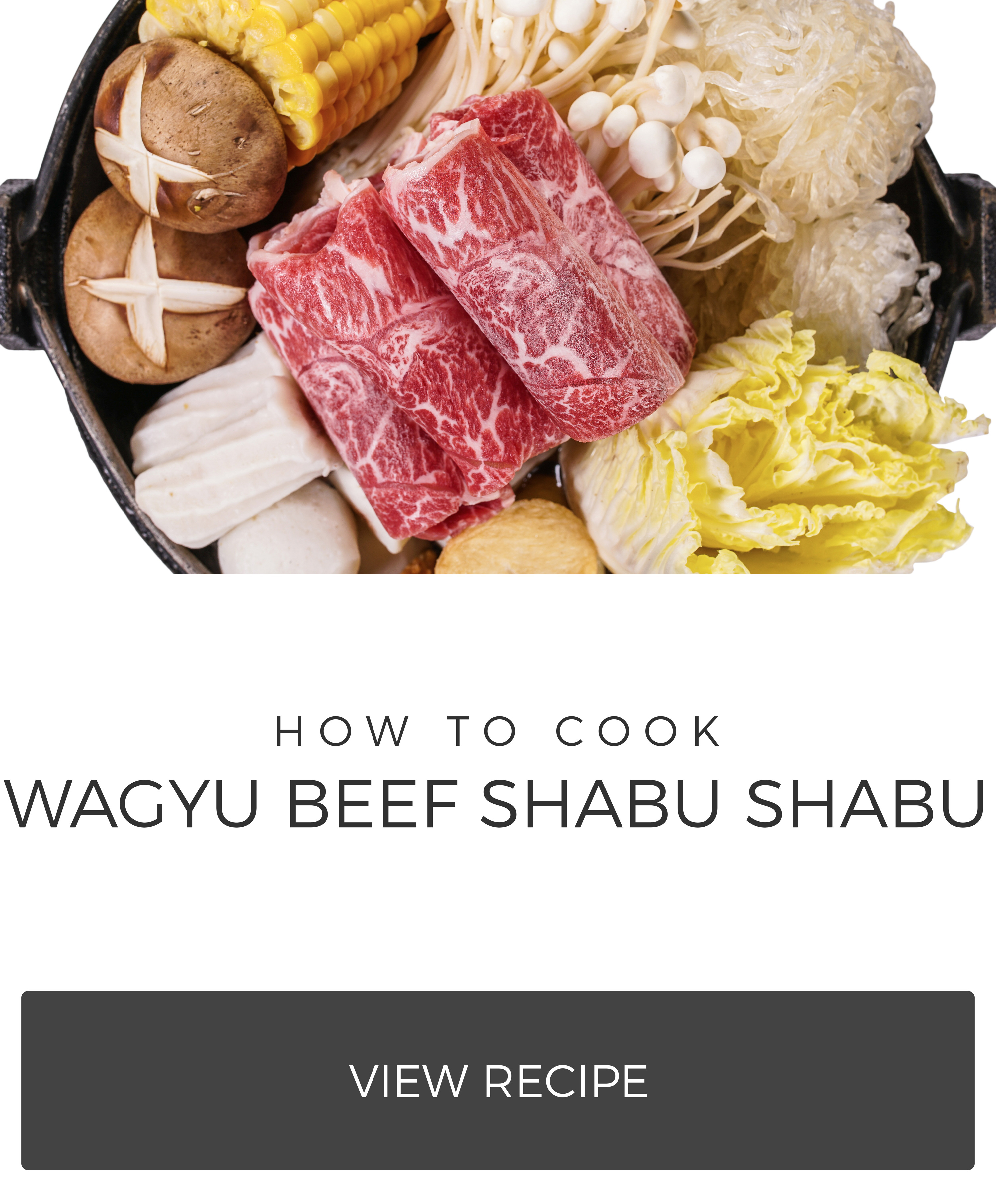 how to cook wagyu beef shabu shabu