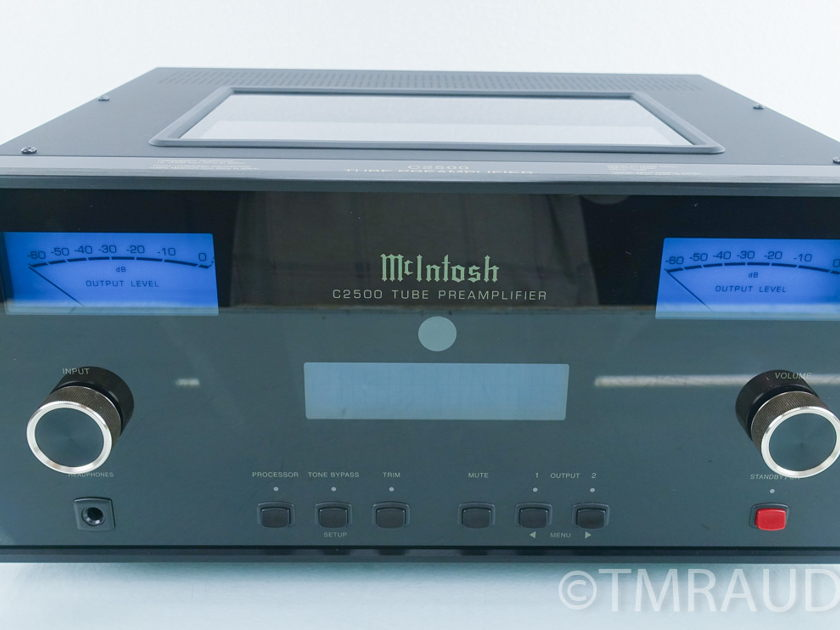 McIntosh  C2500  Vacuum Tube Stereo Preamplifier / Preamp (9121)
