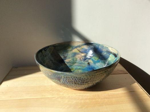 Большая керамичсекая тарелка