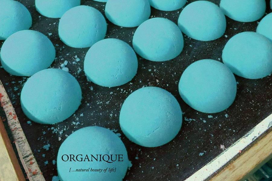 Organique natural Nourishing Bath Bomb Masculini